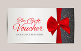 Gift Voucher Template Vector Illustration for Your Business - 181972368