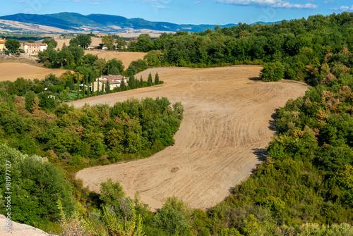 Foto op Canvas Toscane Paesaggio toscano italiano