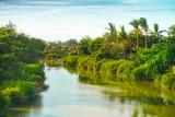 little village near the river  of vietnam - 181983751