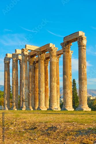 Zeus Temple in Athens