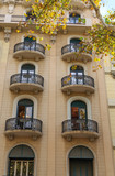Round Balconies on Barcelona Condos - 182001333