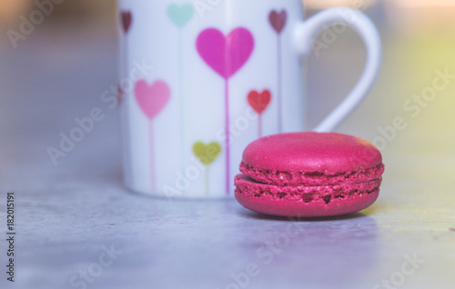 Foto op Aluminium Macarons Coffee Break