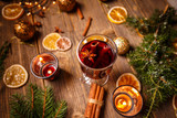 Hot mulled wine - 182025777
