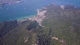 Miyajima Bay From The Air, Japan - 182040523