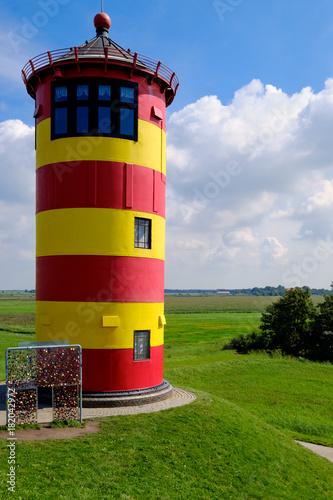 Aluminium Noordzee Der Leuchtturm von Pilsum