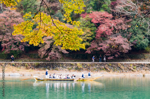 Foto op Canvas Kyoto Fall Season Arashiyama Kyoto