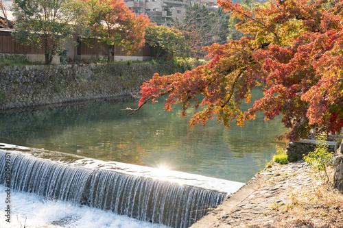 Deurstickers Kyoto Fall Season Arashiyama Kyoto
