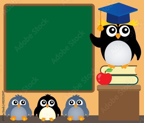 In de dag Voor kinderen School penguins theme image 4