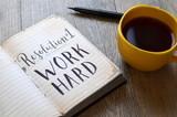 Resolution No. 1 WORK HARD - 182054985