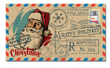 Christmas and New Year Postcard Wish. - 182070737