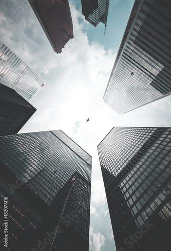 Foto op Plexiglas Toronto Toronto Skyscrapers