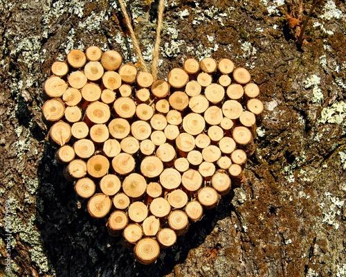 Deurstickers Brandhout textuur Mukemmel