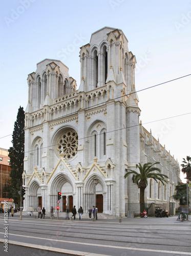 Aluminium Nice Basilica of Notre-Dame de Nice. France