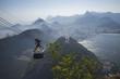 Quadro Aerial view of Rio de Janeiro Brazil