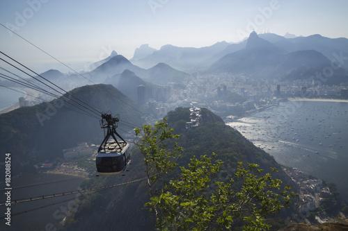 Papiers peints Rio de Janeiro Aerial view of Rio de Janeiro Brazil