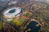 Fototapeta Do pokoju - Krajobraz Stadion śląski © surfmedia