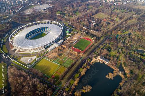 Krajobraz Stadion śląski