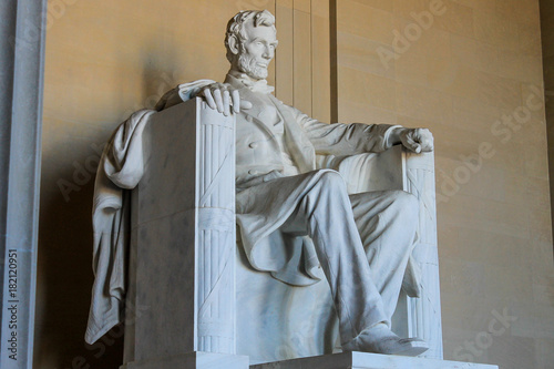 Poster Lincoln Memorial from the side