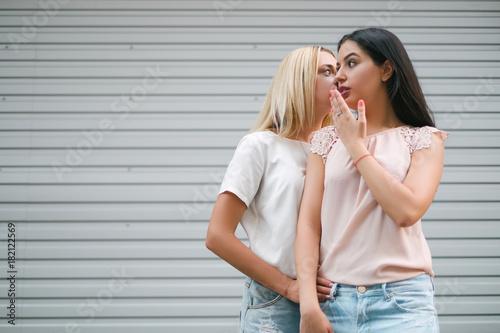 Gossip girls friends city walk concept Poster