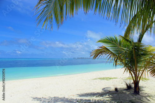 Papiers peints Tropical plage kuredu beach