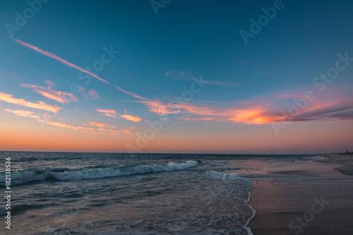 Plexiglas Strand Cottelsoe Beach Sunset, Perth Western Australia