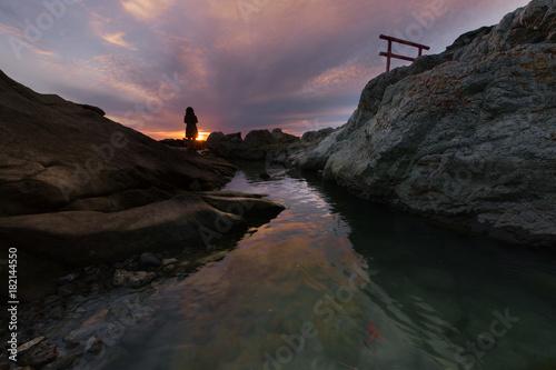 Foto op Plexiglas Lavendel 葉山町 小磯の鼻
