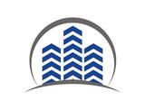 Circle of Building Real Estate Company Logo Modern - 182149774