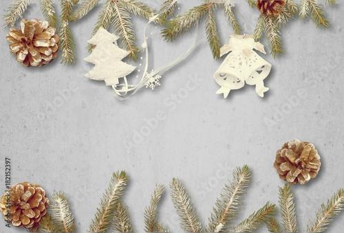 Foto op Plexiglas Bol Christmas.