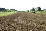 Feldarbeit auf einem Bauernhof - 182155743