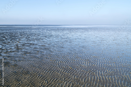 Foto op Canvas Noordzee Nationalpark Niedersächsisches Wattenmeer bei Cuxhaven