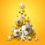Luxury Christmas greeting card - 182158330