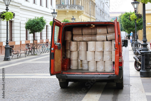 Van Delivery Shippment