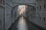 Dark water course in Venice