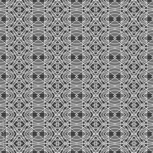Ethnic Geometric Seamless Mosaic