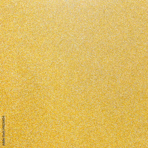 Gold and silver glitter texture background of golden yellow hot foil leaf bright metallic Christmas holiday decoration backdrop design element