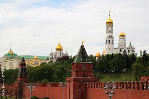 Staande foto Moskou Moscow Kremlin