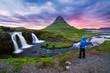 Kirkjufellsfoss - the most beautiful waterfall in Iceland - 182190141