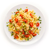 Pasta with vegetables  - 182190936