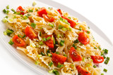 Pasta with vegetables  - 182190939