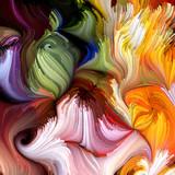 Evolving Liquid Color