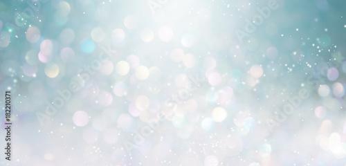 Fototapeta Beautiful abstract shiny light and glitter background