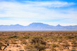 View of Agua Caliente Mountains and Aguila Mountains