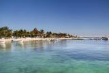 Mexican caribbean beach - 182210972