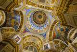 Interior and arches of St. Isaac's Cathedral - 182231954