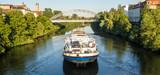 Panorama Binnenschiff, Main-Donau-Kanal - 182232348