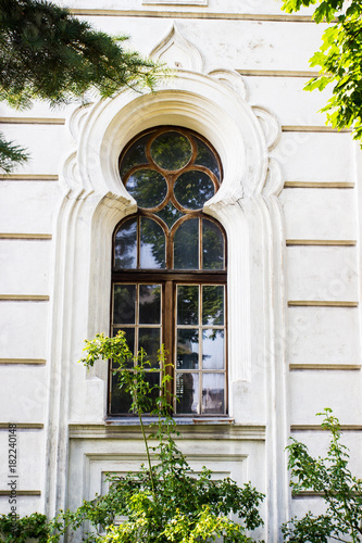 Konin, Poland. Historic synagogue of small Polish town called Konin. . Greater Poland province. © morissfoto