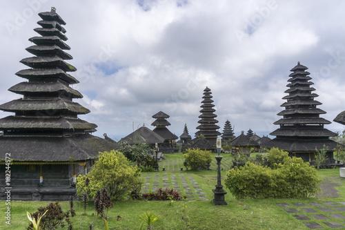 Plexiglas Bali Hindu Tempel Pura Besakih auf Bali