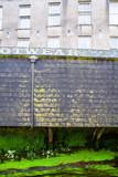 Old Delapidated Building Facade