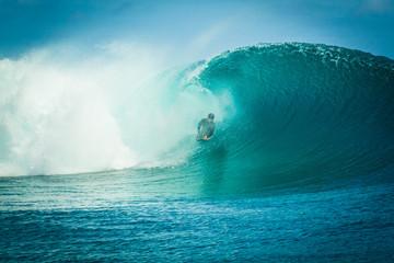 Bodyboard à Tahiti