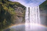 Waterfall Rainbow Iceland